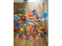 Play-Doh sweet Shoppe Set and ELC Soft Stuff play-dough Cutters and Toys Morden