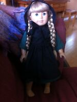Traditional American girl doll outfit