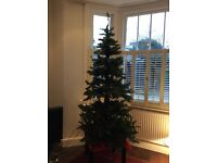 A Lovely 6ft Artificial Christmas Tree