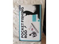 Pocket fishing rod