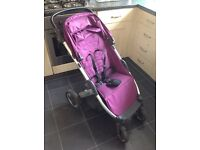 Oyster Jule stroller purple great condition £40 RRP £199.99