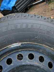 Michelin Xice with rims Prince George British Columbia image 3