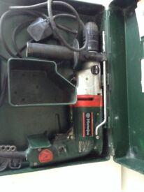 Metabo Hammer Drill 230v