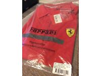 Men's Classic Ferrari Polo Shirt XL NEW