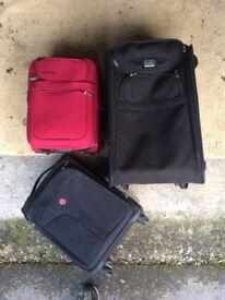 Luggage set of three bags