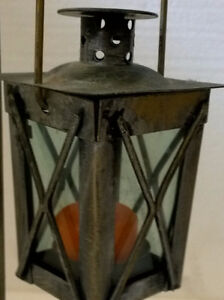 Brand new decorative metal lantern candle holder with stand London Ontario image 3