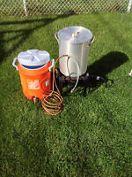 All Grain Brewing equipment