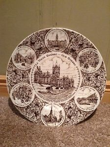 Wood & Sons antique commemorative Quebec plate --made in England Kitchener / Waterloo Kitchener Area image 1
