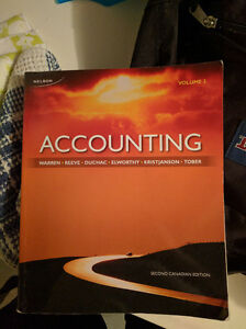 Nelson's Accounting Volume 1 and 2