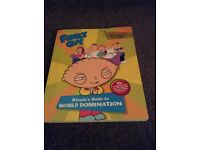 Family guy book. Stewie's guide to world domination