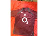 Arsenal O2 Football Shirt