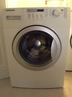 Samsung front load washer - not working but good scrap metal.