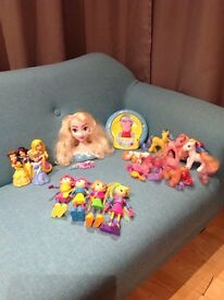 Girls / Kids Toys - Frozen, My Little Pony, Peppa Pig, Disney Princess, Betty Spaghetty