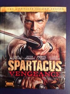 Spartacus vengeance the complete second season on Blu-ray