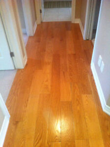 Flooring Installation Service - Hardwood and Laminate