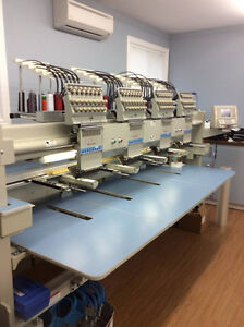 4 HEAD BARUDAN EMBROIDERY MACHINE
