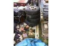 Ldv convoy wheels and tyres twin wheel 185x14