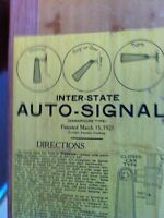 Auto signal. For open cars