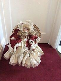 Porcelain Doll Victorian child