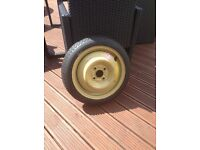Space saver wheel ford ka