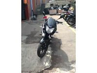 HONDA CBF125 FOR SALE WITH 1 YEAR MOT REMOTE START AND IMMOBILIZER