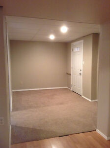 One Bedroom Basement Suite, Available Now
