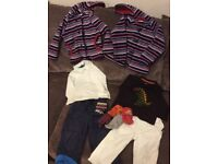 Children's clothes, fleece, trousers and tops -njo