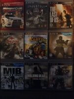 Many PS3 games for sale $15 each or 5 for $50