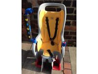 Topeak child/baby carrier bike seat excellent condition