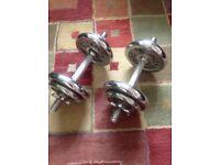 Cast Iron Dumbells