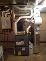 Professional Hvac duct installs heating service and repair