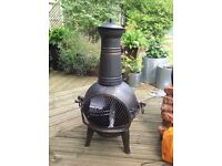 New cast iron chimenea