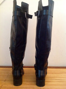 Alfred Sung black knee high boots Kingston Kingston Area image 2