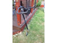 Tow bar cycle carrier