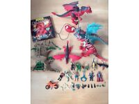 ELC Dragon Dinosaur Playsets With Sounds and Lights Action Figures and Accessories Excellent Morden