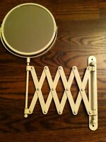 Mirror, extendable wall mount, make-up