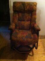 Recliner rocking swivel chair
