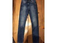 Next skinny jeans 8 long
