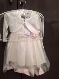 Age 1-1,5 years stunning bridesmaid dress! New!