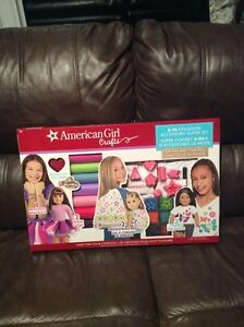 American Girl 8 in 1 accessory craft set