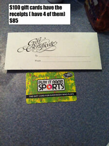 play it again sports gift card London Ontario image 1