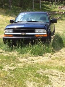 Chev S 10 4X4 for parts