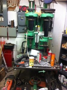 Big heavy drill press