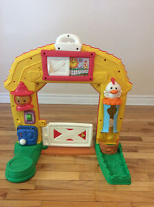 Porte (ferme )fisher price - fisher price door (farm)