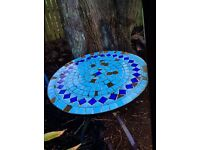 Mosaic Tiled Garden Table