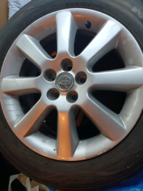 Toyota Avensis Alloy and Tyre