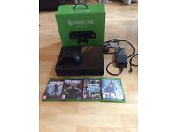 Xbox one 500gb with games!