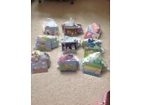 Peppa pig puzzles set of 9