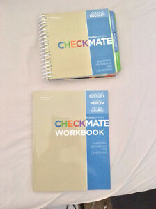 Checkmate and workbook for english class