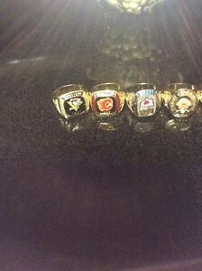 NHL  collectable hockey rings contact if interested  St. John's Newfoundland image 2